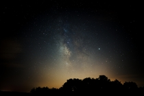 Still working on honing in my skills Night sky outside Nicholasville KY