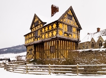 Stokesay Castle Shropshire England - One of the finest surviving fortified manor houses in England