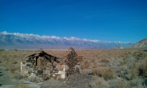 Stone Building Owens Valley CA