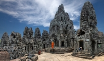 Stone forest in Siem Reap Cambodia