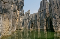 Stone Forest near Shilin Yi Yunnan Province China