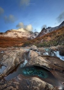 Stone Washed Jeans - The Fairy Pools Isle of Skye Scotland  by Gavin Hardcastle - Fototripper