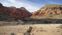 Stopped at Red Rock Canyon Nevada while attending last weeks CES Took this amazing shot with my OnePlus One