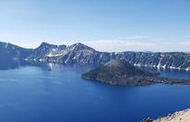 Stopped by Crater lake today on my way to Yosemite