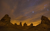 Stopped by Trona Pinnacles on the way home for Thanksgiving