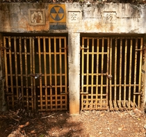 Storage tunnels built by the Japanese using forced labor during the occupation of Guam Later converted to a fallout shelter during the Cold War Hagatna Guam