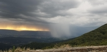 Storm brewing at Shenandoah National Park