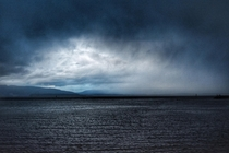 Storm brewing on the Salish Sea