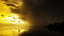 Storm moving in as I was finishing a timelapse Bayport FL