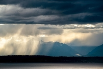 Storm over the Olympic Mountains WA