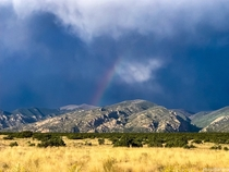 Storm rolling in over the Sangre De Cristos in the San Luis Valley