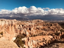 Storms brewing  Bryce Canyon  x