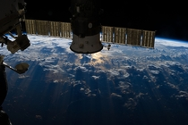 Storms Near Brazil NASA International Space Station