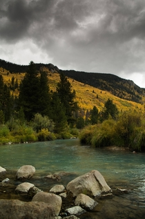 Stormy Autumn Day - Montezuma Colorado  OC