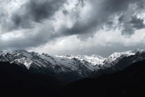Stormy day in Himachal Pradesh  OC x