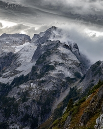 Stormy weather in the North Cascades