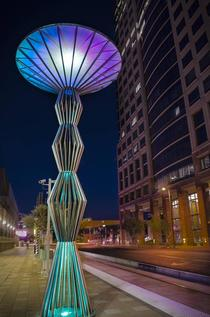 Streetlamp in Downtown Phoenix AZ