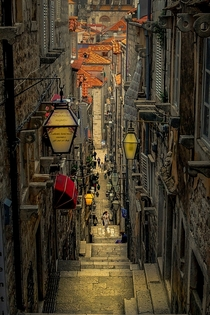 Streets of Dubrovnik  by Emir Terovic