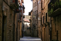 Streets of Laguardia La Rioja Spain