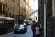 Streetside in Florence Italy