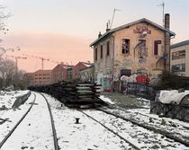 Stretching  kilometres around the city centre of Paris lies la petite ceinture a railway built more than two centuries ago that now sits unused Since going out of operation in  the infrastructure has remained in tact By Pierre Folk