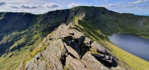 Striding Edge The Lake District England