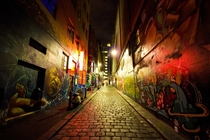 Strolling down Hosier Lane - one of Melbournes best spots for street art By Kurt Stanley Photography  x post rAustraliaPics