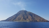 Stromboli Italy less than two days before it massively erupted last week
