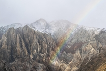 Struck gold on Mount Morrison in the Eastern Sierras