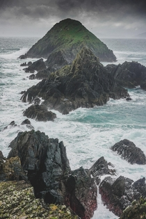 Stuck in a Tempest at the western point of Ireland where Star Wars was shot