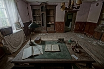 Study in an abandoned mansion Photo by Iris Beukhof