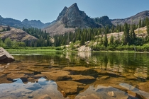 Stunning Lake Blanche and Sundial Peak near Salt Lake City UT