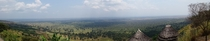 Stunning panorama view from Lake Mburo Luxury Tented Camp Uganda