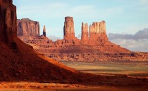 Stunning pic of Monument Valley does anyone know how this was formed