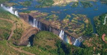 Stunning shot of the Victoria Falls