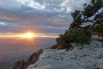 Stunning sunset from Sandia Crest New Mexico  feet above sea level