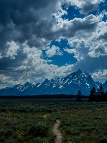 Stunning View at Grand Teton National Park