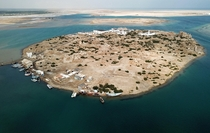 Suakin Island Red Sea Sudan by Mavic drone Suakin was a busy trade and Hajj port in medieval and Victorian times General Kitchener was under siege here It was abandoned when Port Sudan came into prominence following war with EgyptBritain Strangely the bui