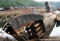 Submarines graveyard in Nezametnaya Cove Kola Peninsula Russia Album in comment