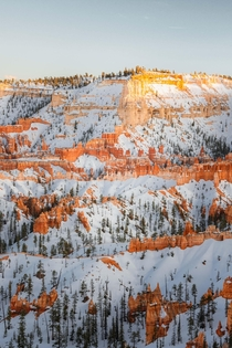 Subtle evening light in Bryce Canyon Natl Park