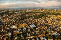 Suburbs of Manaus Brazil The largest city in the Amazon