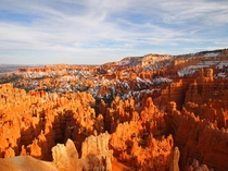 Such an alien landscape at Bryce Canyon National Park Utah OC