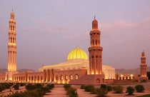 Sultan Qaboos Grand Mosque Oman