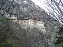 Sumela Monastery northeastern Turkey