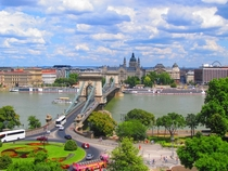 Summer in Budapest Hungary