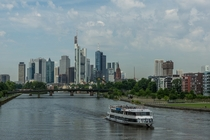 Summer in Frankfurt Germany