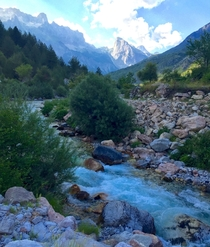 Summer in the Albanian Alps