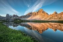 Summer in the Dolomite Alps Italy By Achim Thomae