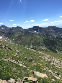 Summer in the Sangre de Cristo Mountains Colorado