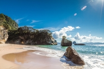 Summer is coming Cathedral Cove New Zealand